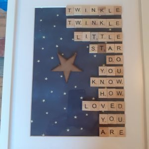 twinkle twinkle little star frame