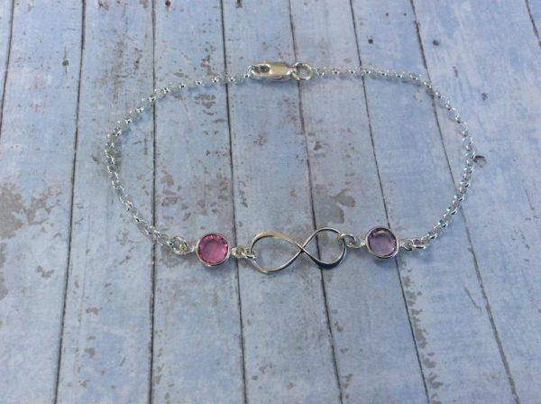 Silver Infinity Bracelet - 337D3F14 1AFF 4CCF 9493 348D34CCFE94