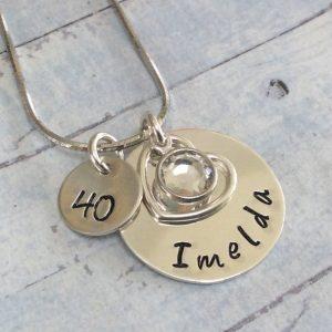 Personalised Milestone Birthday Chain Laurannabelle chain