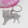 Chihuahua keyring dog keyring personalised gift elle and b ee