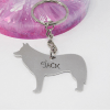 collie dog keyring personliased gift handmade in ireland