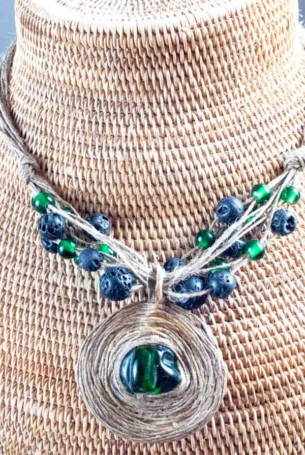 Green Land Necklace - Green Land Handmade Jewellery