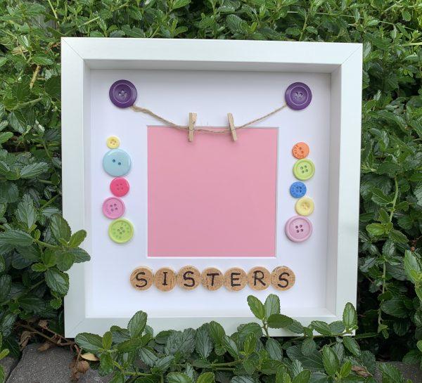 sisters frame handmade persoanlsied frame