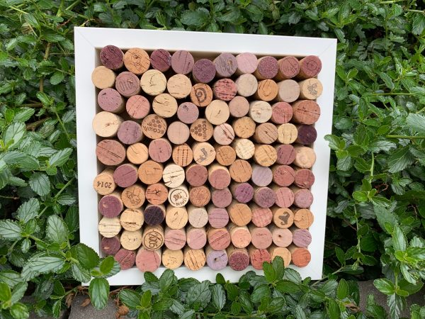 Wine Cork Pin Board - Framed - IMG 7326