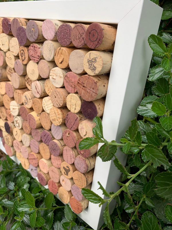 Wine Cork Pin Board - Framed - IMG 7327 e1565715122245