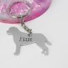 Labrador Dog Breed Keyring elle and bee handmade personlised gift