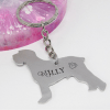 Schnauzer Dog Breed Keyring