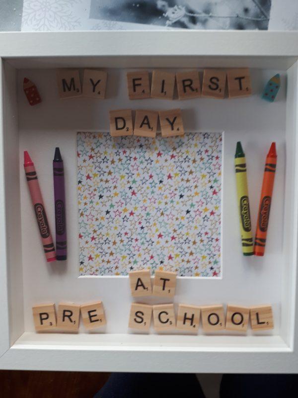 My First Day at PreSchool - firstdayofpreschool