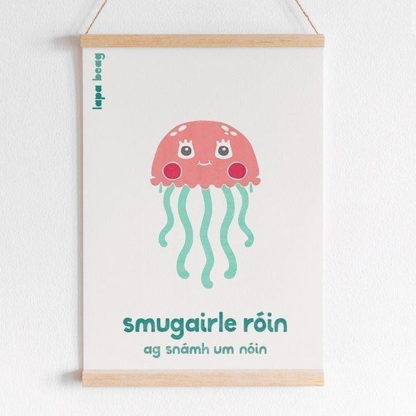 irish jellyfish print lapabeag