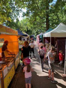 bushy park market food stalls