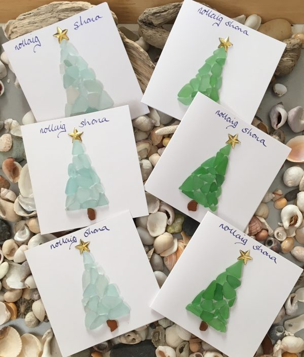made to order christmas cards of christmas trees