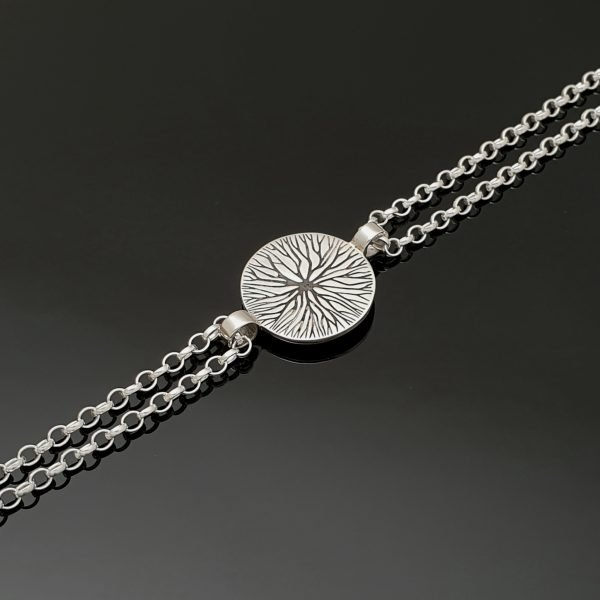 unique contemporary tree of life bracelet straight