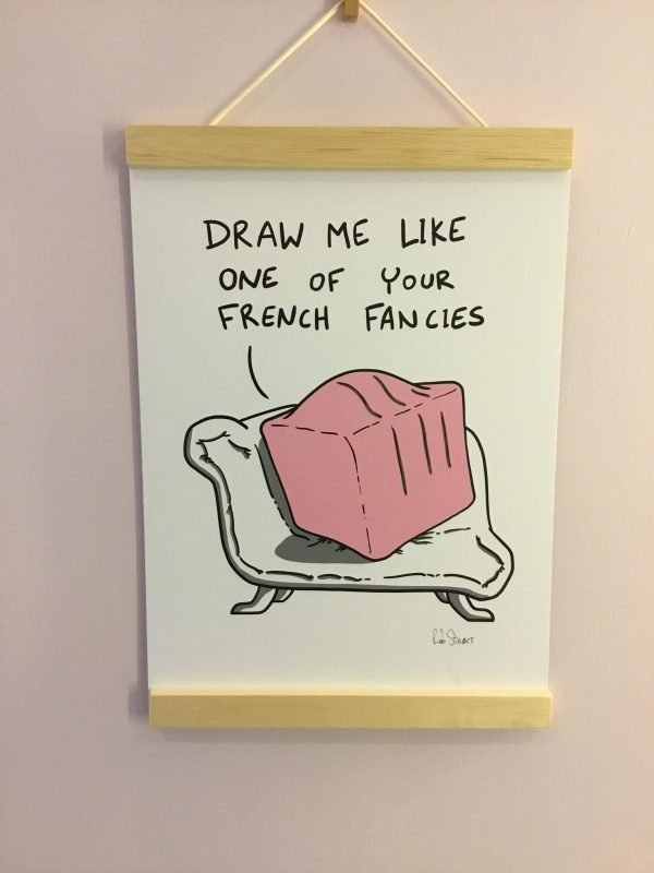 French Fancy funny illustration by rob stears