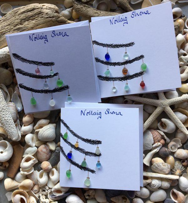 6 Seaglass Irish language Christmas Cards - 425091D7 B5FC 4381 B612 8D0CA2C942FC