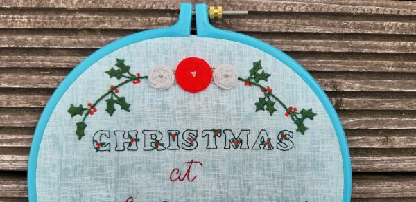 Personalised Christmas Embroidery Decoration - Christmas Embroidery Christmas Decoration 3