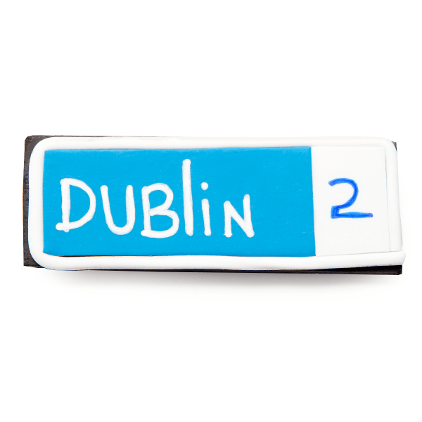 dublin 2 clay firdge magnet personalised