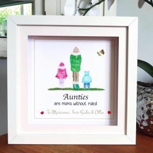 personalised auntie frame
