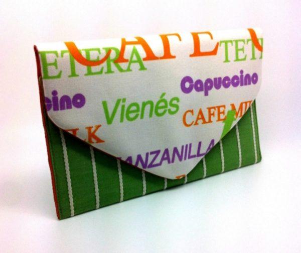 Coffee Shop Envelope Clutch Bag - 20191120 134540