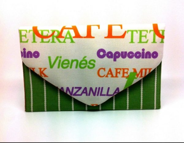 Coffee Shop Envelope Clutch Bag - 20191120 134557