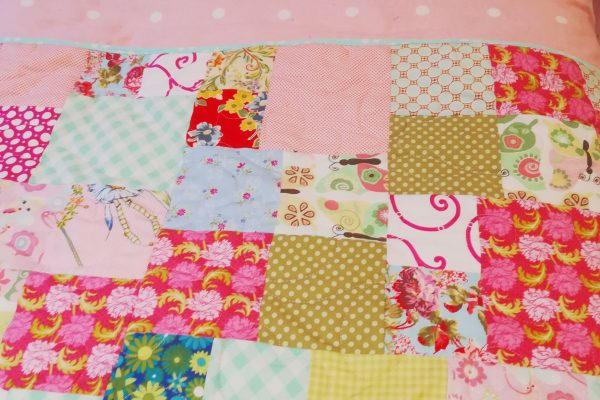 Colourful Quilted Bed Runner - 20191122 153736 scaled