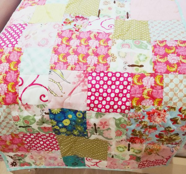 Colourful Quilted Bed Runner - 20191122 154129 scaled