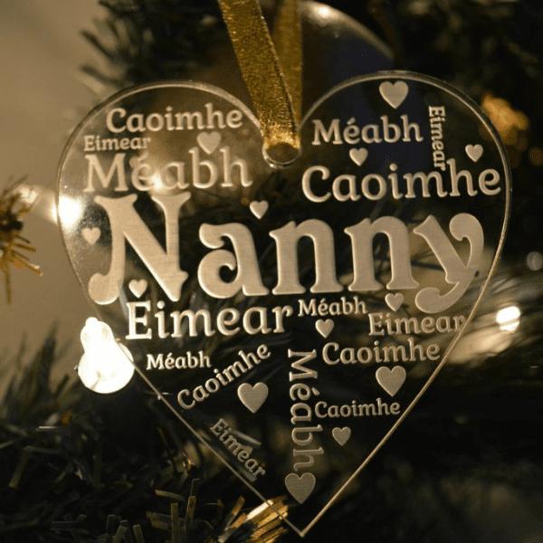 Grandparent Christmas Ornament - Grandparent Christmas Decoration