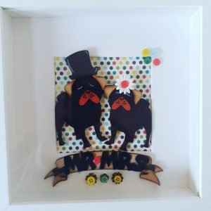 mr & mrs dogs frame