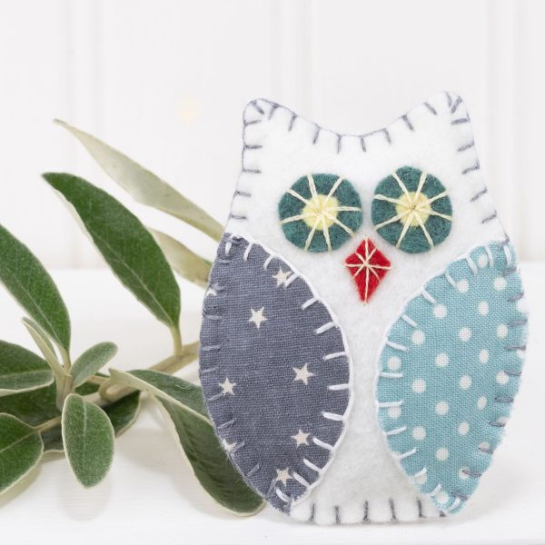 Scandi Style Owl Christmas Ornaments - IMG 2888