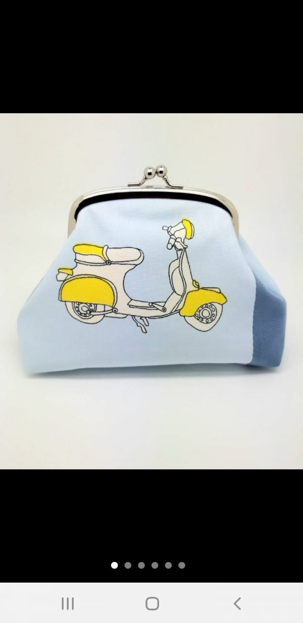 Scooter Moped Clutch Bag - Screenshot 20191122 163028 Etsy