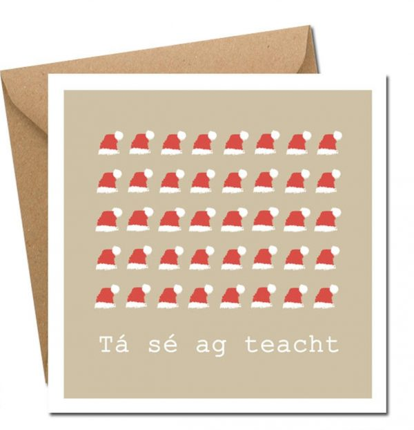 gin-gle bells! Irish Christmas card