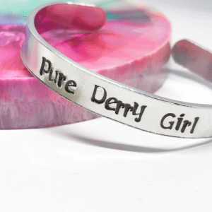 Pure Derry Girl Cuff Bracelet