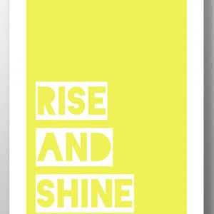 Rise and Shine lainey k art print