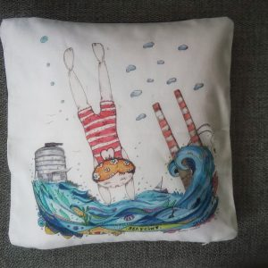 Deep Dive Diva - Cushion Cover
