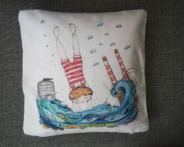 Deep Dive Diva - Cushion Cover