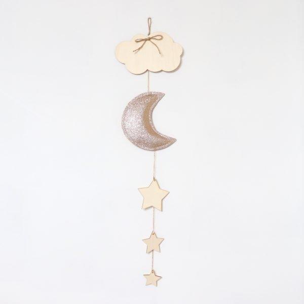 Golden Moon decoration