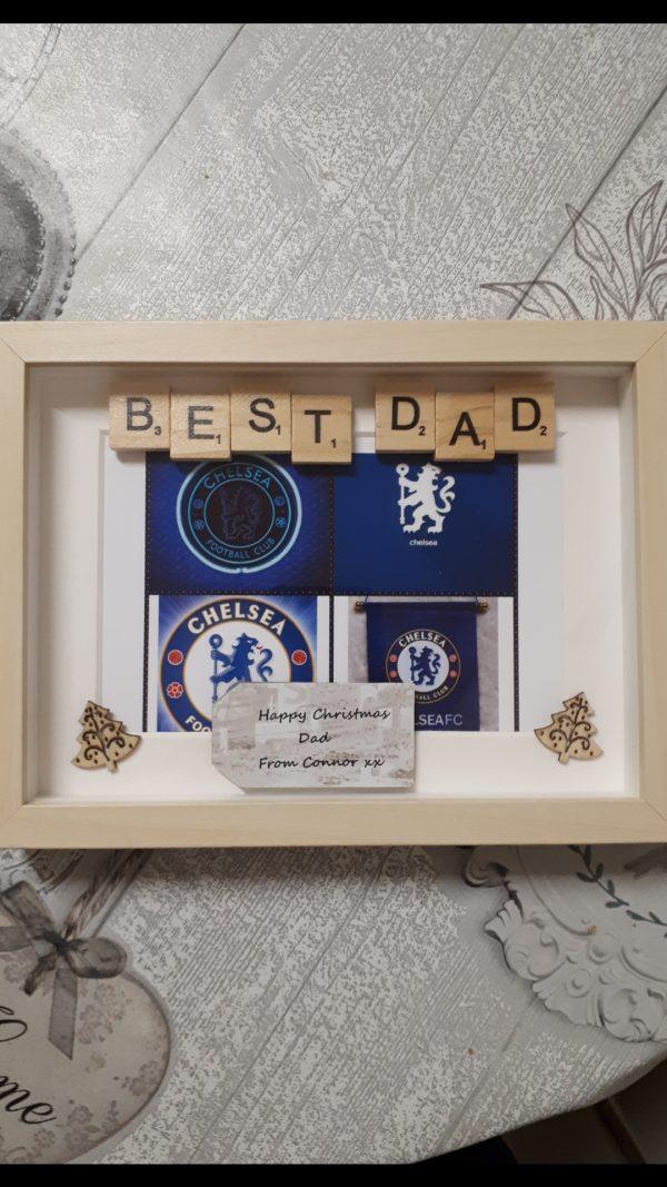 Chelsea Football Fan Frame