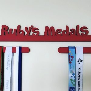 Personalised medal holder