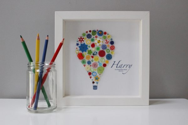 Personalised Hot Air Balloon Frame