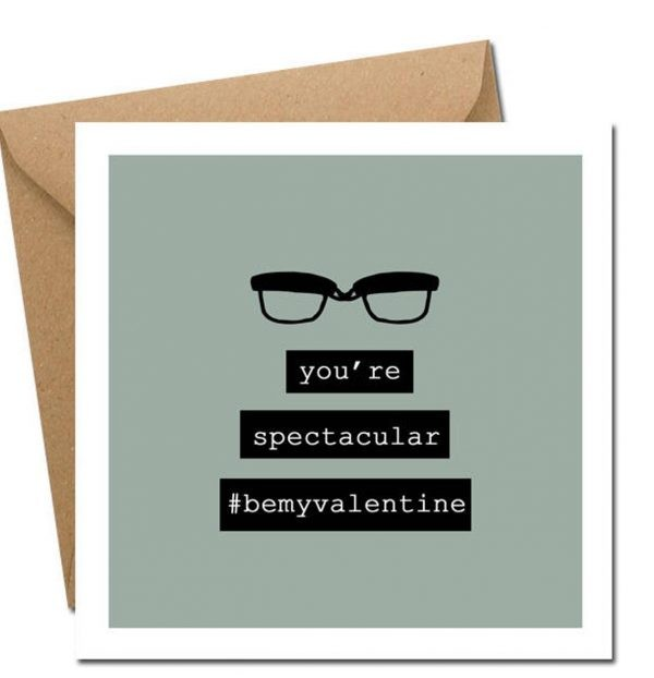 You're spectacular valentines day card