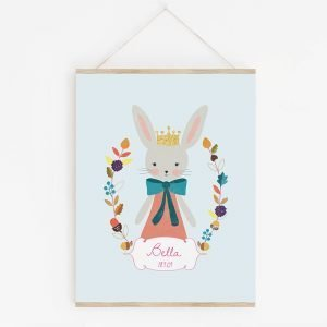Autumn Bunny Art Print