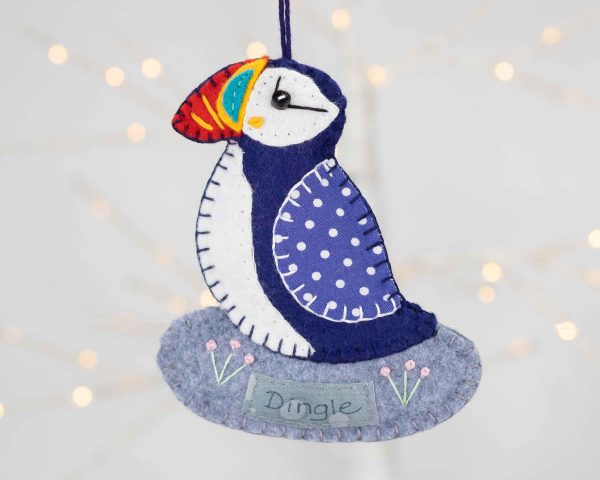 Personalised Puffin Felt Ornament - IMG 3438 scaled