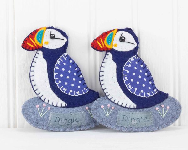 Personalised Puffin Felt Ornament - IMG 3458 scaled