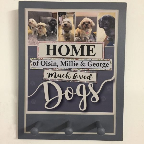 Personalised Dog Lead Hanger - Market Street Pic 2