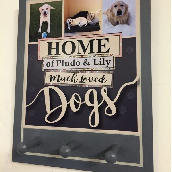 Personalised Dog Lead Hanger - Market Street Pic 3