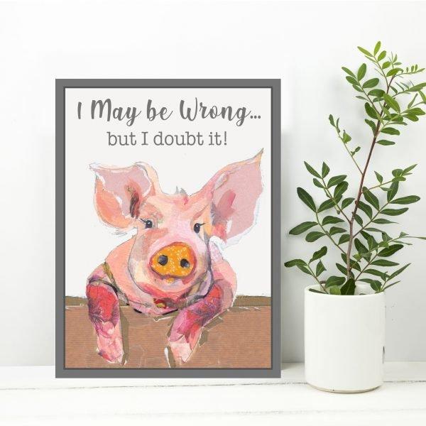 Pig Art Block
