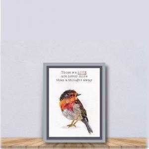Robin Sympathy Gift