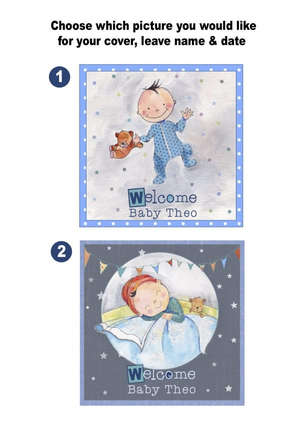 Baby Boy Memory Book - Personalised - il 1588xN.1645834309 o5un 1