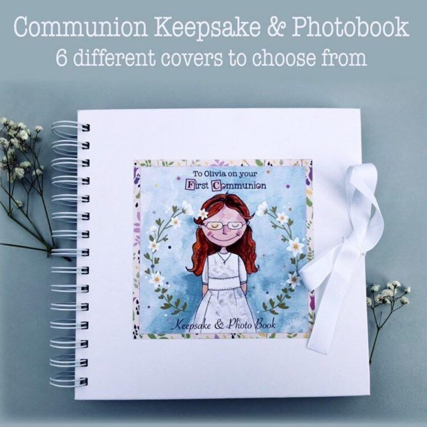 Communion Girl Keepsake Journal