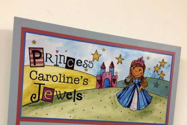 Personalised Princess Jewellery Holder -