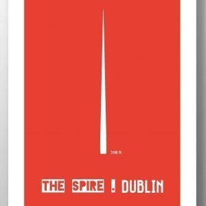 the spire wall print